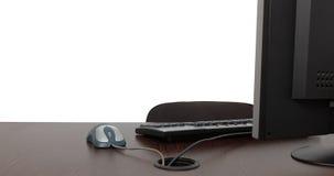 Mesa de escritório vazia Imagens de Stock