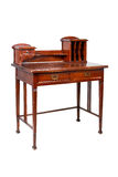 A mesa de escrita da antiguidade, tabela, isolou-se Foto de Stock Royalty Free