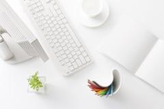 Mesa de escritório Foto de Stock Royalty Free