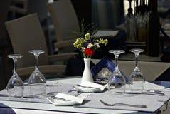 Mesa de jantar Foto de Stock Royalty Free