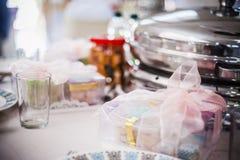 Mesa de jantar elegante Fotografia de Stock Royalty Free