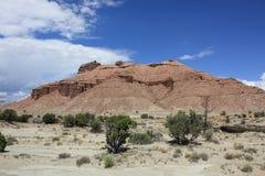 Mesa de la curva de la sangría, Utah Fotos de archivo
