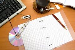 Mesa de la oficina foto de archivo libre de regalías