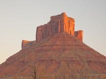 MESA de Parriott dans Moab, Utah Photo stock