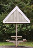 Mesa de picnic Imagen de archivo libre de regalías