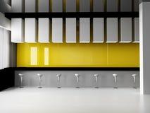 Mesa de recepção dianteira Imagem de Stock Royalty Free