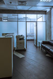 Mesa de recepção do escritório Imagens de Stock Royalty Free