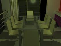 Mesa de reuniones Fotos de archivo libres de regalías