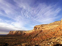 Mesa in de Woestijn stock foto's