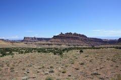 MESA dei giullari, Nevada Immagini Stock