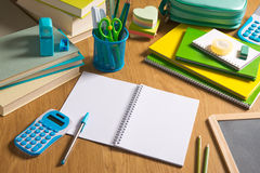 Mesa del estudiante Foto de archivo