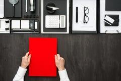 Mesa del negocio corporativo Imagenes de archivo
