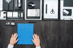 Mesa del negocio corporativo Foto de archivo libre de regalías