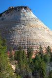 Mesa del tablero, parque nacional de Zion, los E.E.U.U. Fotos de archivo libres de regalías