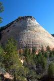 Mesa del tablero, parque nacional de Zion, los E.E.U.U. Foto de archivo