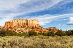 MESA della cucina, New Mexico fotografie stock libere da diritti