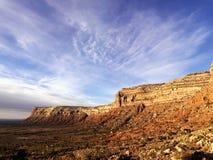 Mesa in the Desert Stock Photos