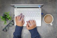 Mesa do café Imagens de Stock