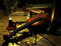 A mesa do compositor Fotografia de Stock Royalty Free