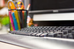 Mesa do computador Foto de Stock