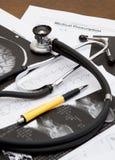 Mesa do doutor Imagens de Stock