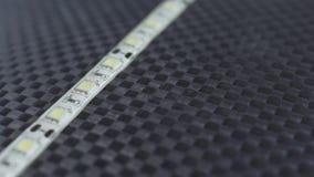 Mesa do longboard da fibra do carbono e luz conduzida, selfmade filme