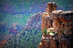 Mesa en el borde del norte de Grand Canyon Imagen de archivo libre de regalías