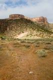 Mesa en el monumento nacional de Colorado Imagenes de archivo