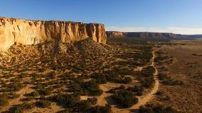 Mesa Encantada Southwest United States New Mexico Acoma Pueblo stock footage