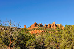 MESA-Felsenanordnung Arizona Stockbild