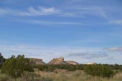 MESA incantata, New Mexico, S.U.A. Immagini Stock