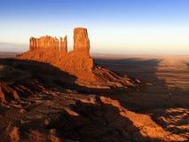 mesa krajobrazowa monument valley Zdjęcia Stock