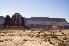Mesa meridional 2 de Utah Fotos de archivo
