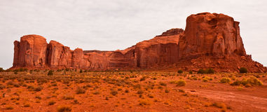 Mesa in Monument Valley Royalty Free Stock Photography