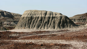 Mesa Mound in Ironstone Swirl Stock Image