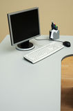 Mesa no escritório fotos de stock