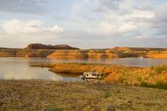 mesa półwysep jeziora Powell Fotografia Royalty Free