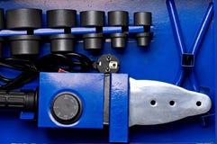Mesa para el trabajo como componentes de radio foto de archivo libre de regalías