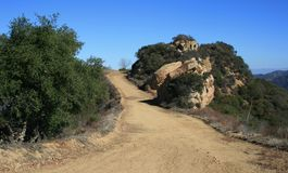 Mesa Peak Motorway Geology 2 Royalty Free Stock Image