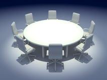 Mesa redonda Imagem de Stock