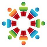 Mesa redonda Fotografía de archivo