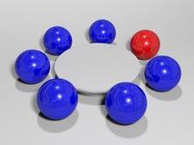 Mesa redonda del asunto Imagen de archivo