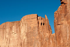 Mesa rock formation Royalty Free Stock Images