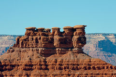 Mesa rock formation Stock Photo
