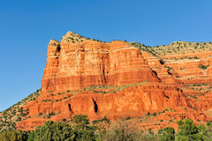 Mesa rock formation Arizona Royalty Free Stock Photography