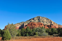 Mesa rock formation Arizona Stock Photo