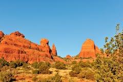 Mesa rock formations Arizona Royalty Free Stock Photos