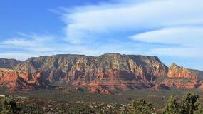 Mesa From Sedona Airport Overlook, Arizona immagine stock libera da diritti