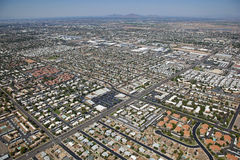 Mesa Sprawl Stock Photos