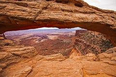 Mesa łuk w Canyonlands parku narodowym 3 Zdjęcie Royalty Free